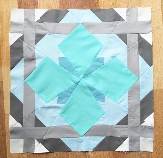 Aquarius by Dorthe, @lalala_patchwork