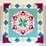 Celestial Star with border pattern by Jenn, @jennrossotti