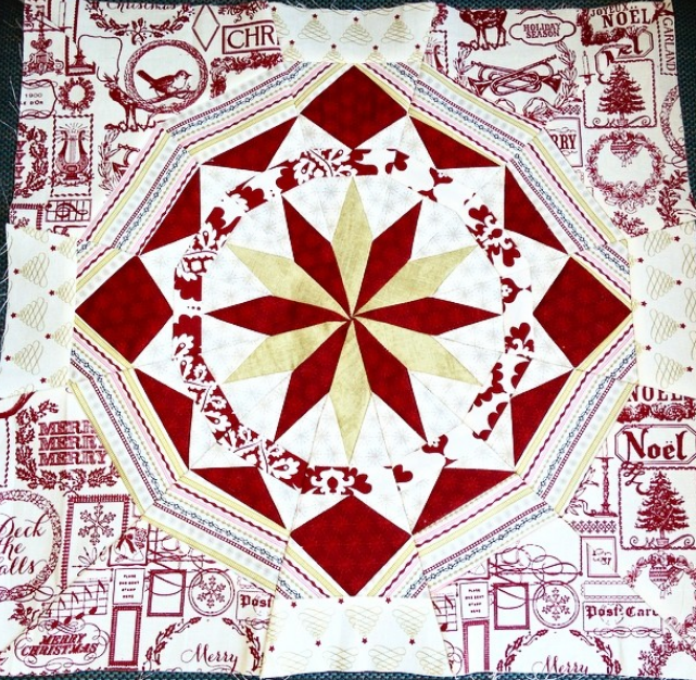Celestial Star by Mindy, @quiltwithmindy