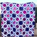 Hidden Gems Group Quilt by Agnes, @finallysewing