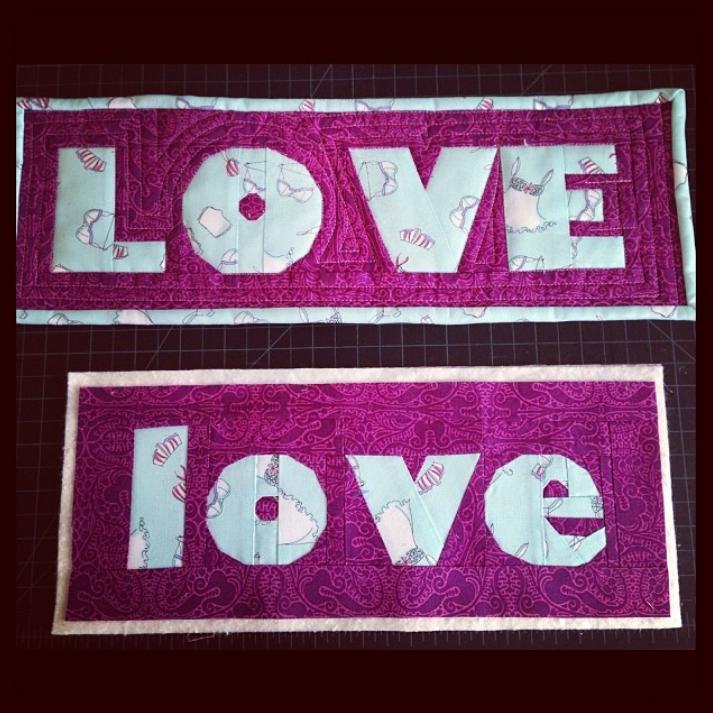 My ABCs Free Love pattern by Tracy, @traylas