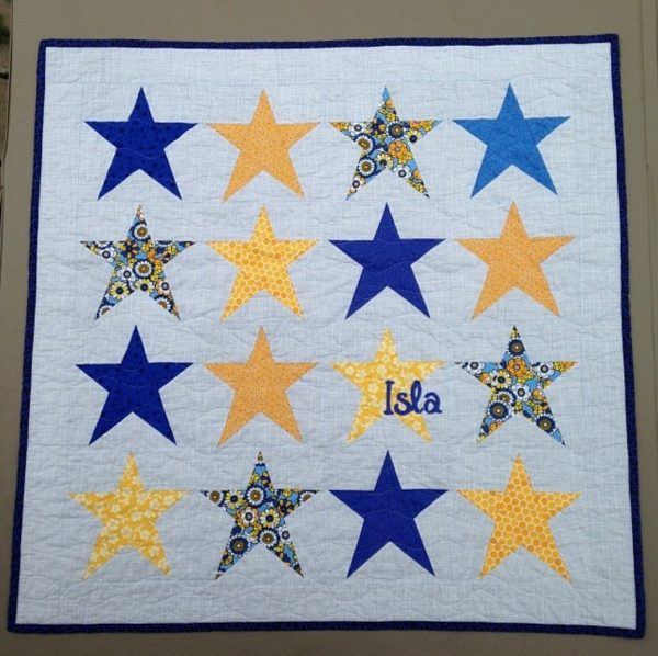 Simple Star by Lena, @crazyquiltlena