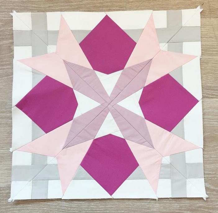 Virgo by Dorthe, @lalala_patchwork