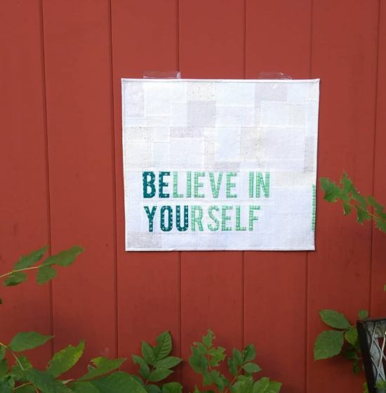 Believe in Yourself - Be You, My First Alphabet by Diane Bohn, @fromblankpages