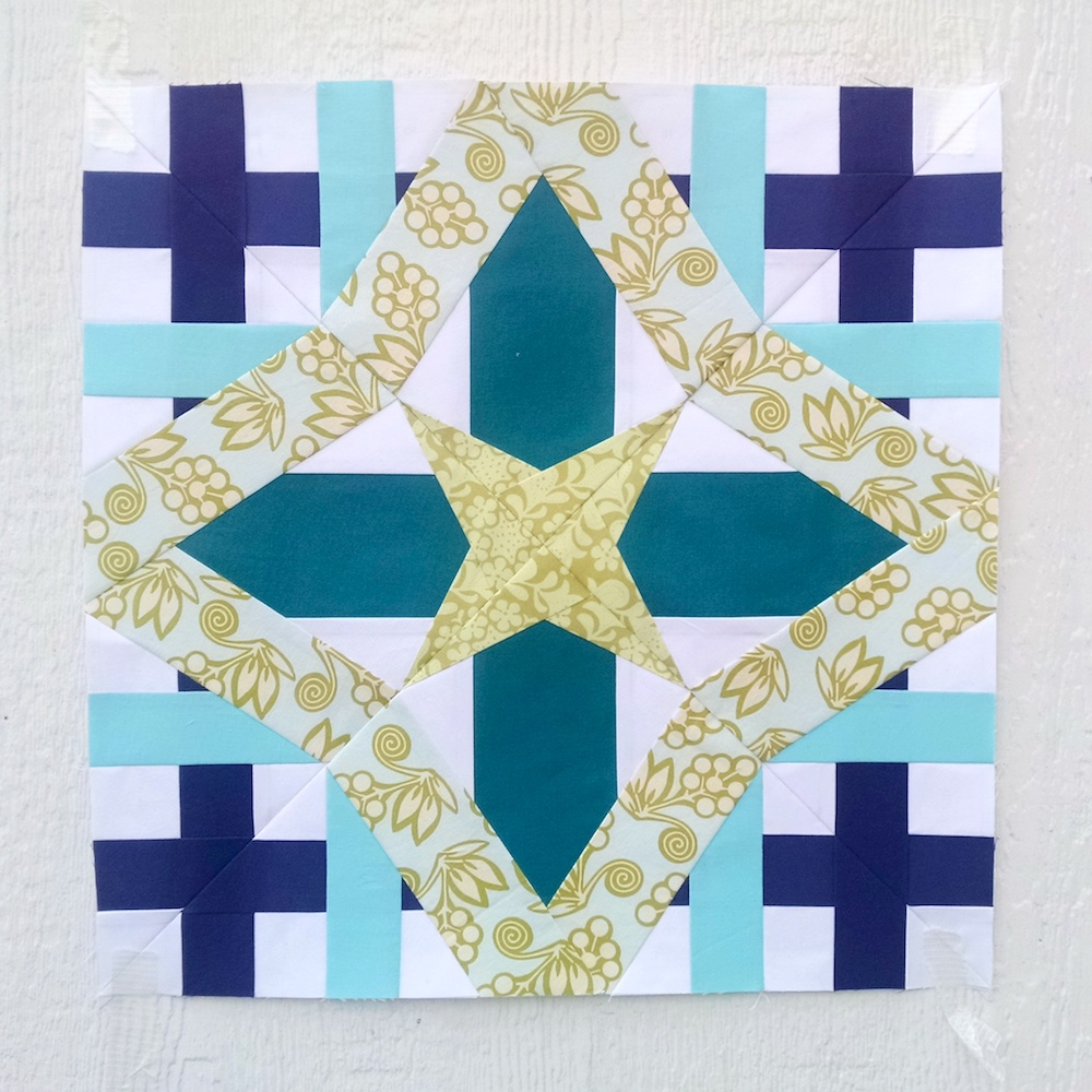 Aries Sampler Quilt Block