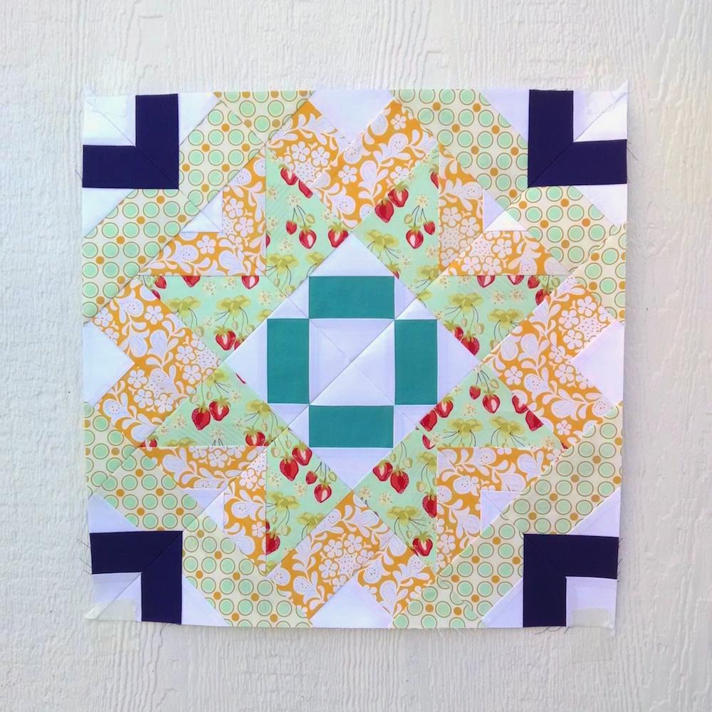 Taurus Sampler Quilt Block