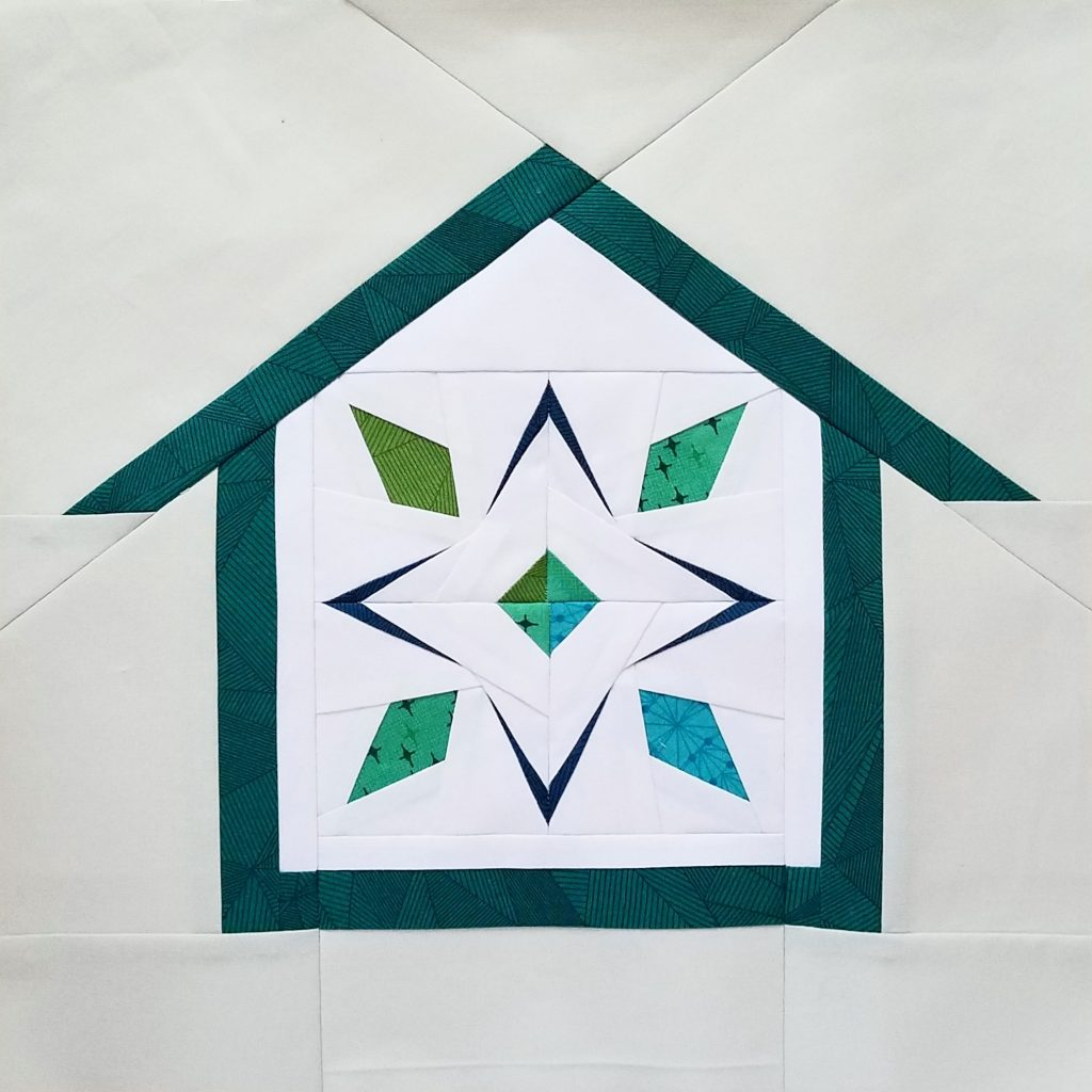 fbp Star Fruit quilt block Home Lovin Quilt