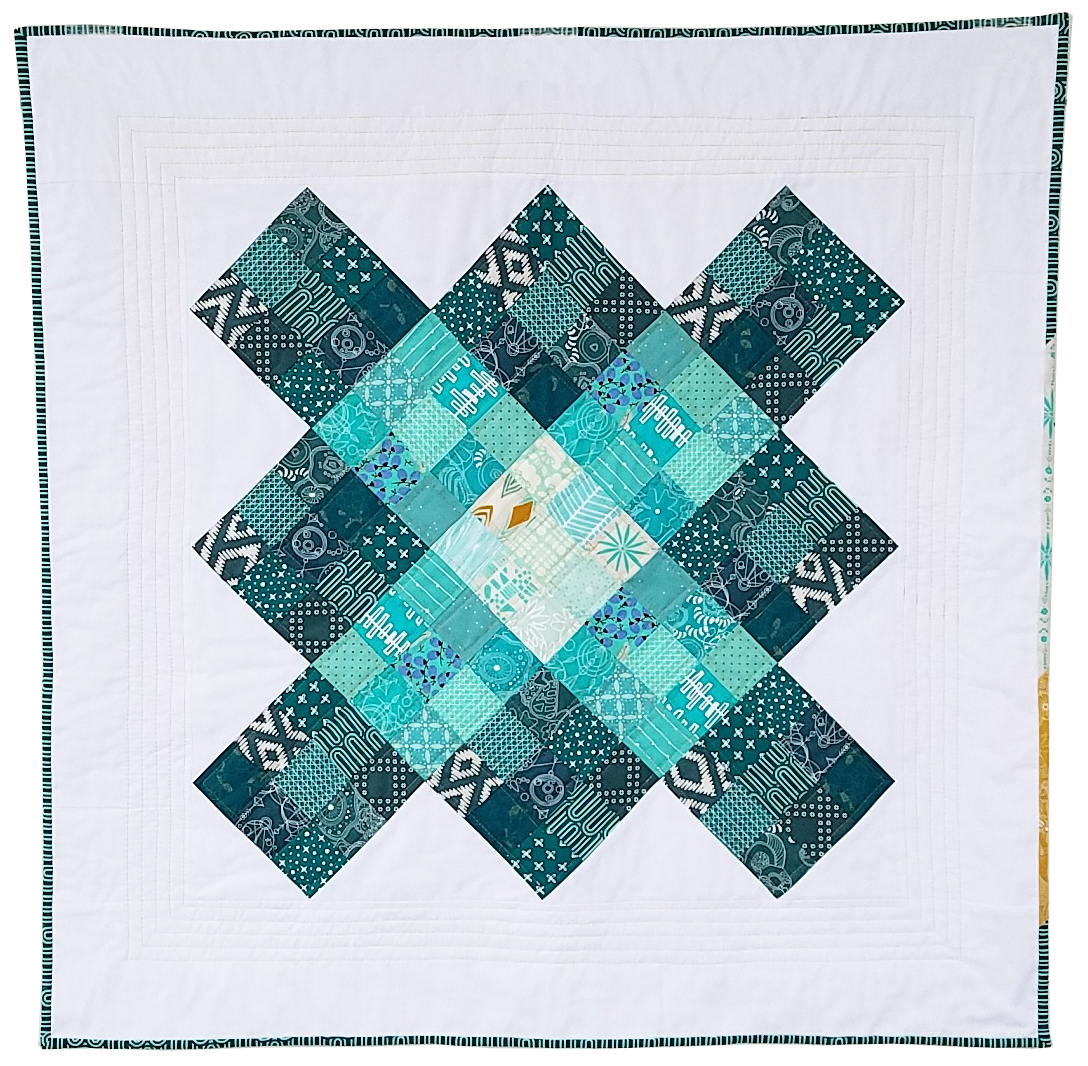 Giant Granny Square quilt CO