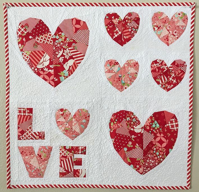 Love by Sonia @ hobblecreekquilts