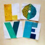 fbp LOVE quilt block
