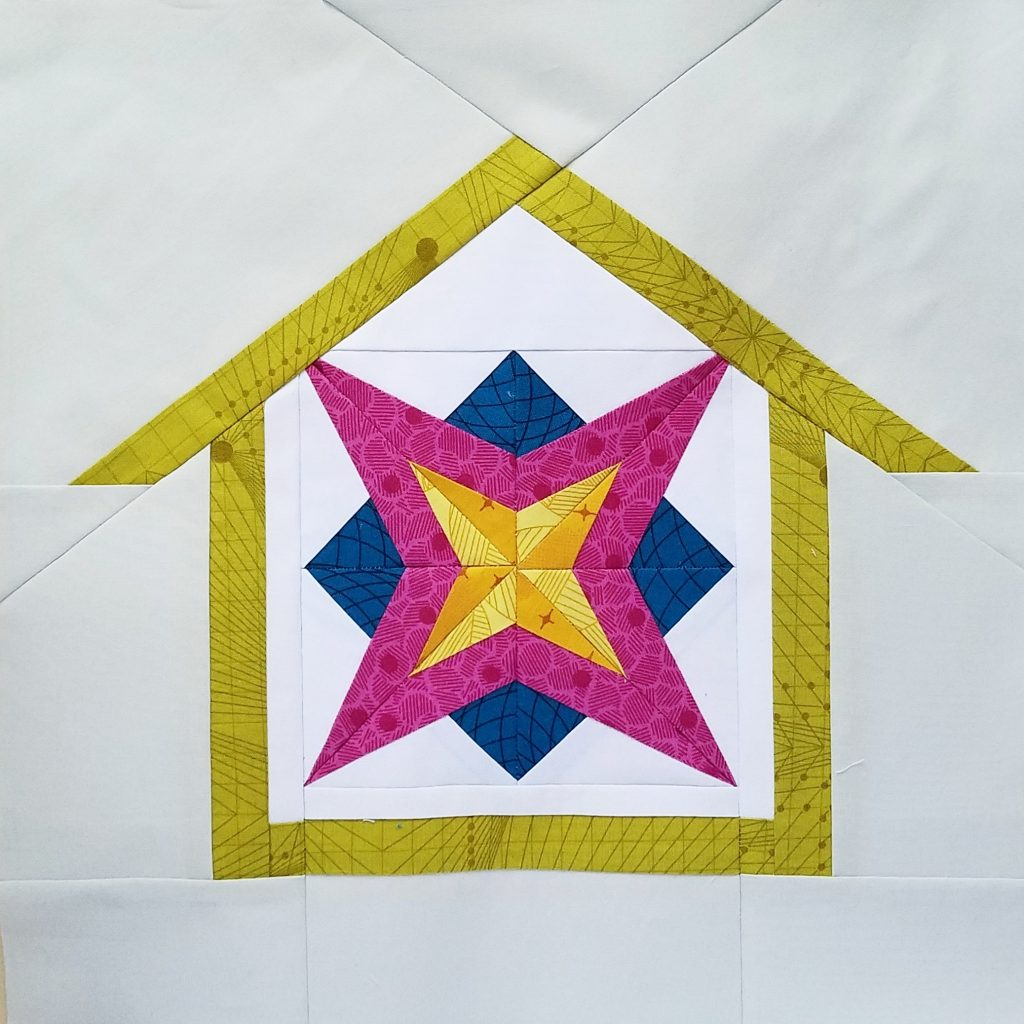 fbp Rockstar 6 inch quilt block Home Lovin Quilt