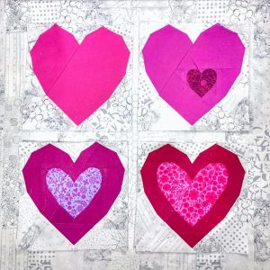 Heart Attack - Solid, Little Heart, Double Heart, Big Hearts, by Michelle H @Katian83