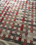 Grandma's Lawn Chair quilt by hedgehogquiltng on instagram