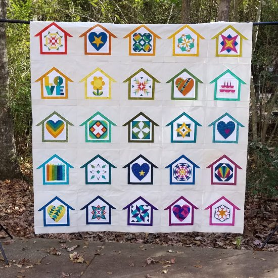 Home Lovin quilt by Diane, @fromblankpages