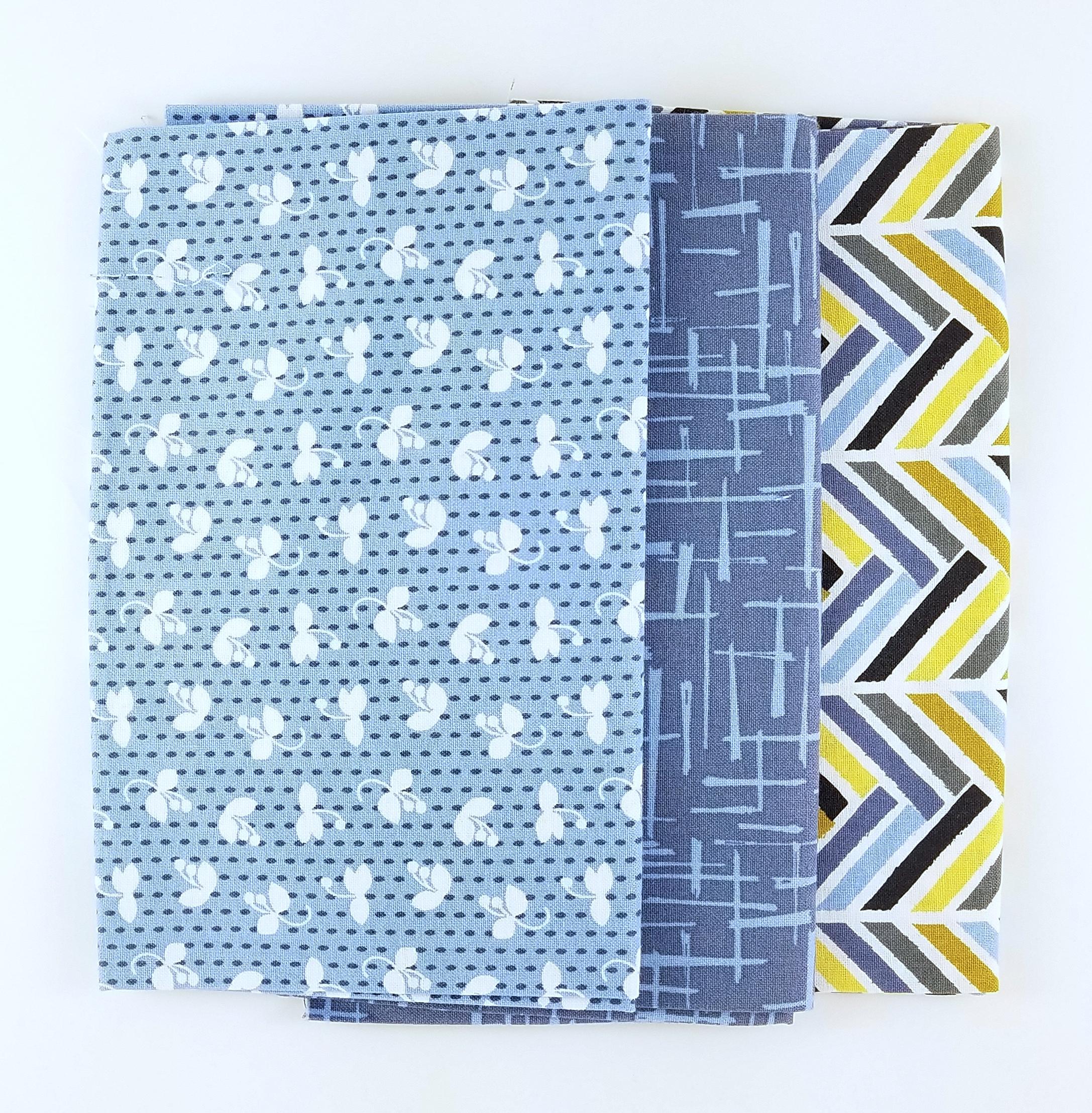 Violet Craft blue FQ bundle