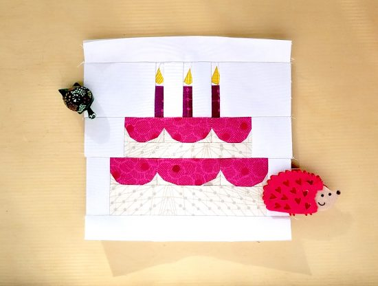 Birthday Cake Mini by Diane, @fromblankpages