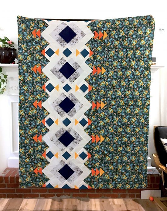 River Pond quilt by Diane Bohn