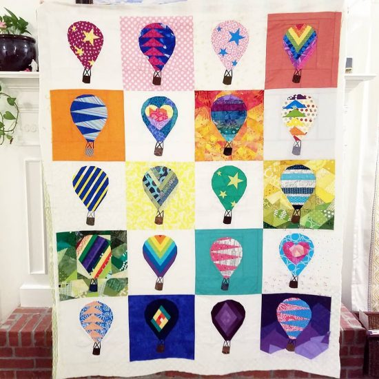 Rise Above charity quilt by amazing testers!!