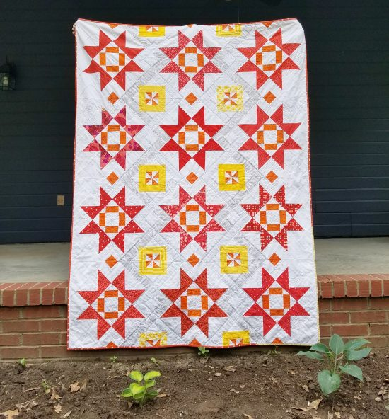 Taurus quilt by Diane Bohn, @fromblankpages