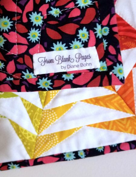 FBP Printed quilt Label
